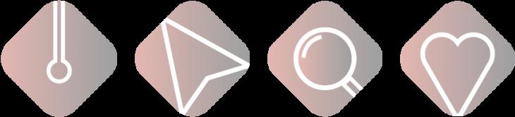 icone servizi grafici laura calascibetta graphic designer