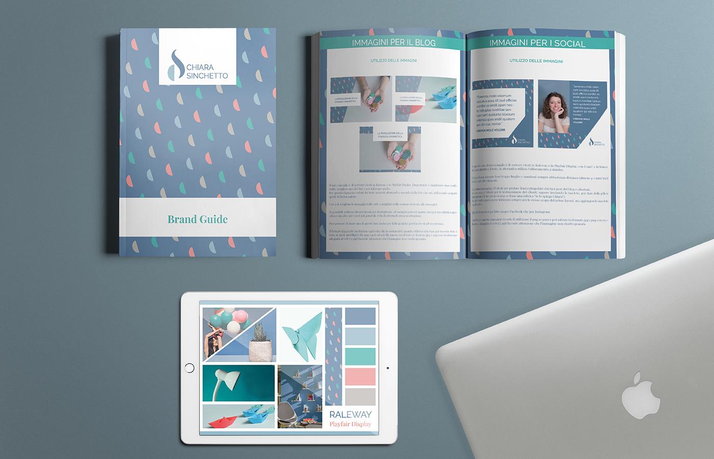 Chiara Sinchetto Identità visiva brandguide e moodboard di Laura Calascibetta graphic designer
