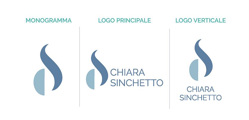 1AM brand unici: Chiara Sinchetto Identità visiva logo di Laura Calascibetta graphic designer