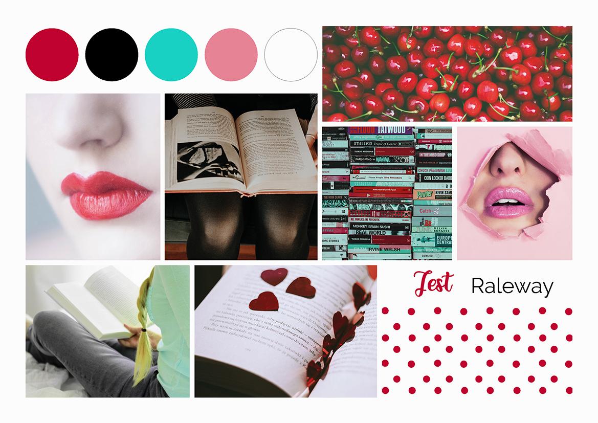 9PM Brand Unici: Pin-Up Loves Books, MoodBoard, blog post di Laura Calascibetta graphic designer