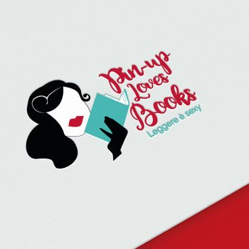 9PM Pin-up Loves Books Presentazione portofolio logo mockup cover