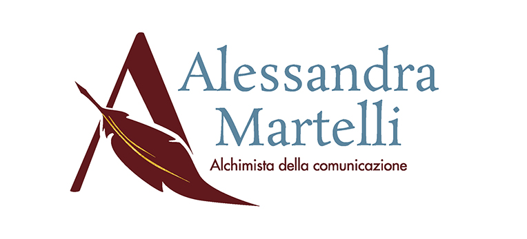 Alessandra Martelli logo, blog post di Laura Calascibetta Graphic Design