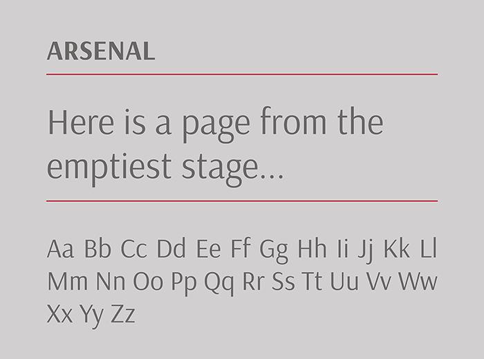 Arsenal-google-font-blogpost-by-Laura-Calascibetta-graphic-designer