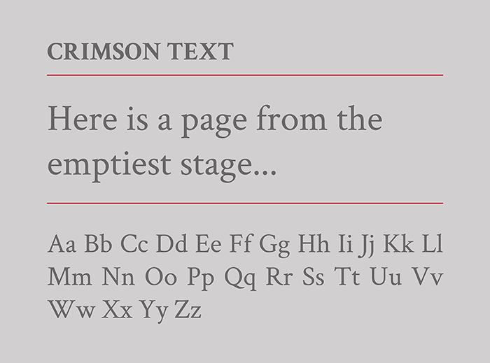 Crimson-Text-google-font-blogpost-by-Laura-Calascibetta-graphic-designer