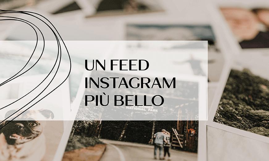 Come migliorare l'estetica del feed Instagram di un piccolo brand