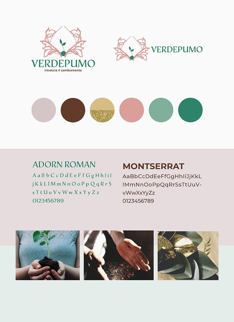 Portfolio-Laura-Calascibetta-graphic-designer-Verdepumo-style-guide