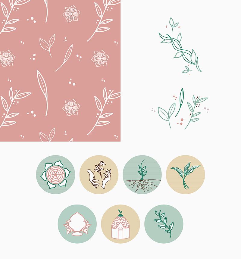 Portfolio-Laura-Calascibetta-graphic-designer-Verdepumo-elementi-grafici