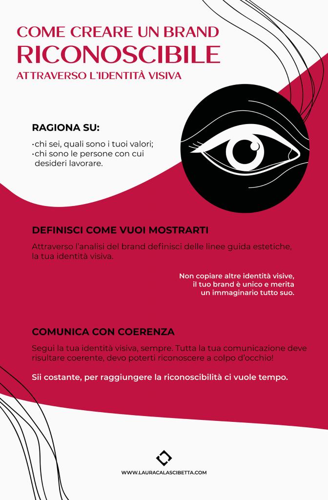 Creare-un-brand-riconoscibile-infografica-by-laura-calascibetta-graphic-designer